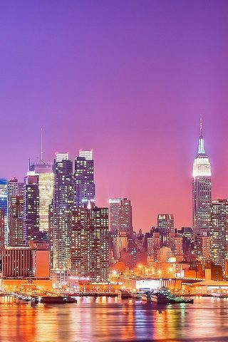 New York Skyline iPhone Wallpaper