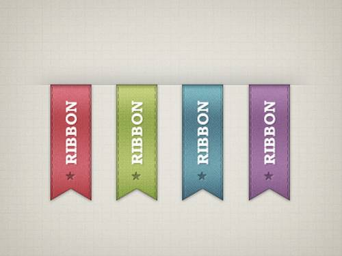 Vertical Ribbons – Freebie