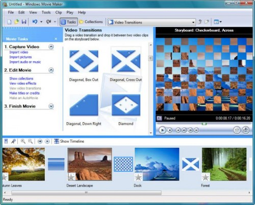 best free video editing software - Windows Movie Maker 2.6