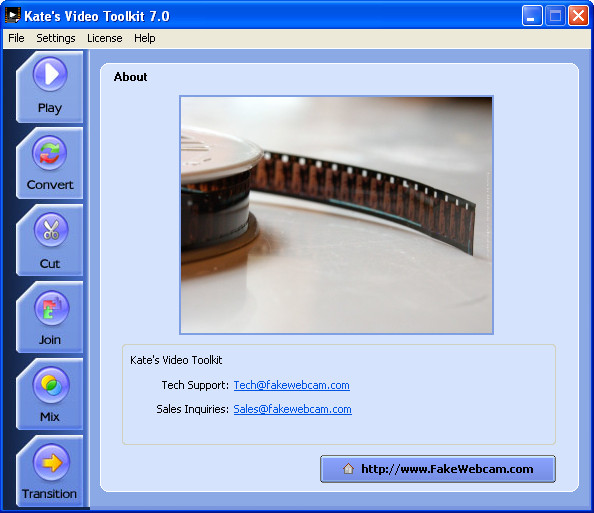 Kate's Video Toolkit - best free video editing software