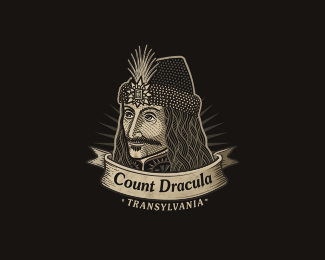 count dracula - logo design