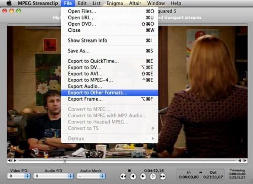 MPEG Steamclip - best free video editing software