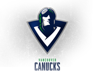 canucks - man face logo