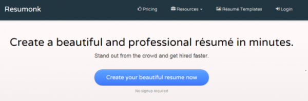 free resume builder - Create A Free Resume Now