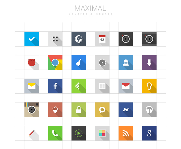 Maximal Icons