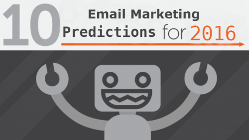 Email Marketing Predictions - 2016