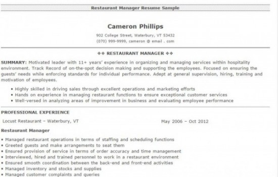 4-restaurant-manger-resume-sample