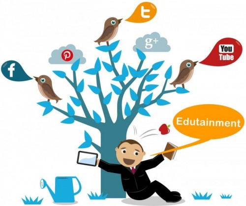 edutainment with mobile apps