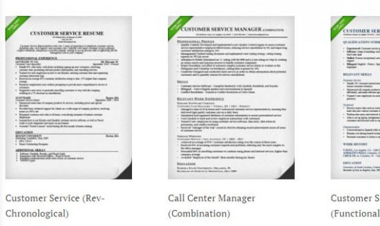 resume genius customer service resume samples