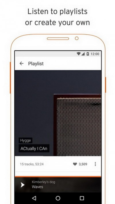Soundcloud - good apps like spotify