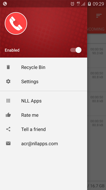 call recorder in android phones