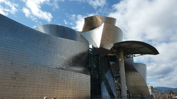 4. Guggenheim Museum - famous architecture work