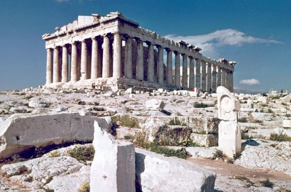 9. Parthenon - Athens - famous architecture design