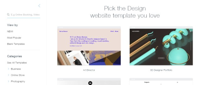 html-website-templates-for-design-wix